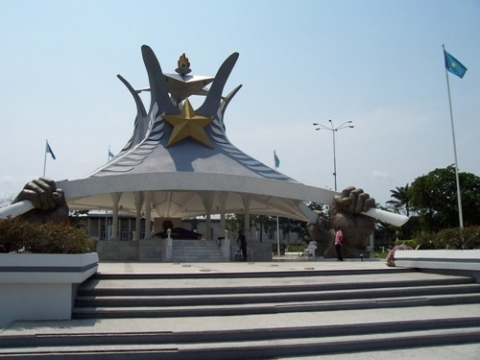 National Monument for Laurent Kabila in Kinshasa
